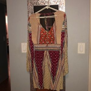 PATRONS OF PEACE Abstract Dress